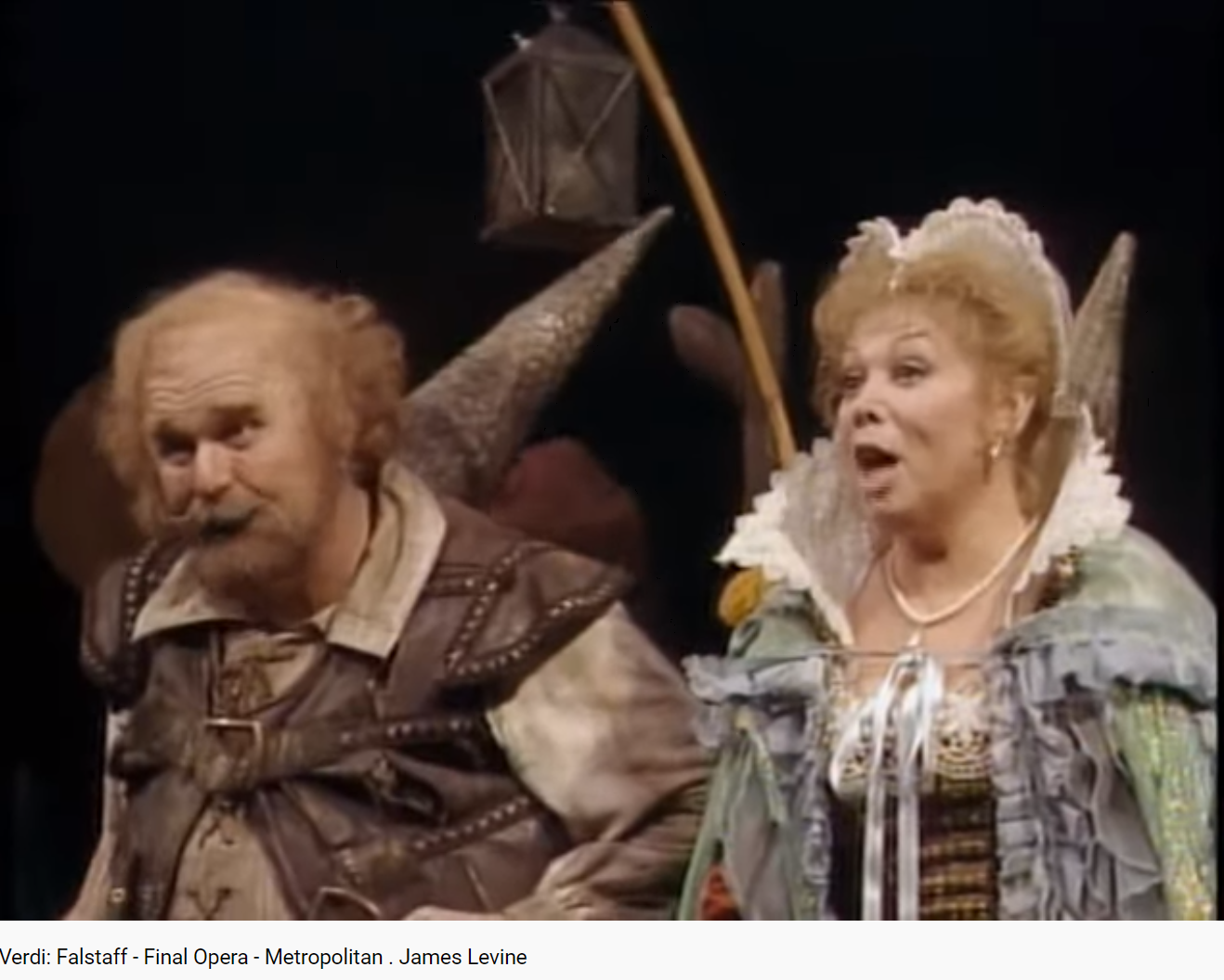 Verdi Falstaff final (Met)