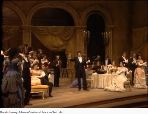 Verdi La Traviata Libiamo (MET)