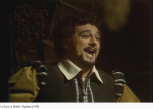 Verdi Rigoletto La Donna e Mobile (MET 1977)
