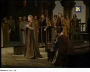 Wagner Tannhaüser fin acte II (MET)