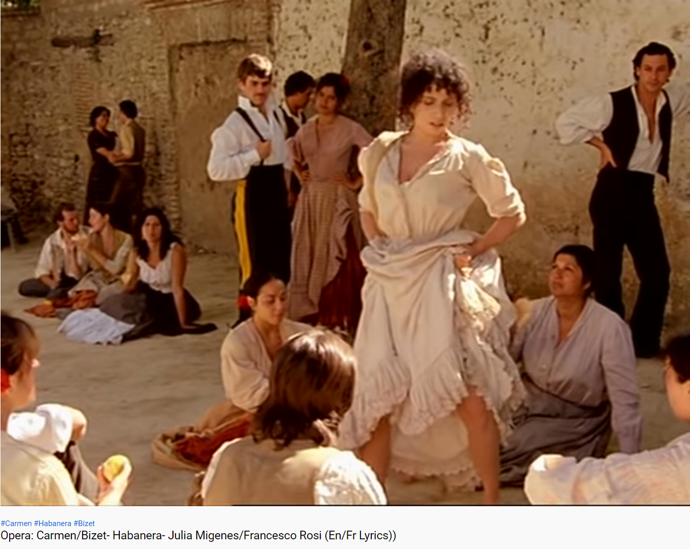 Bizet Carmen habanera Migenes