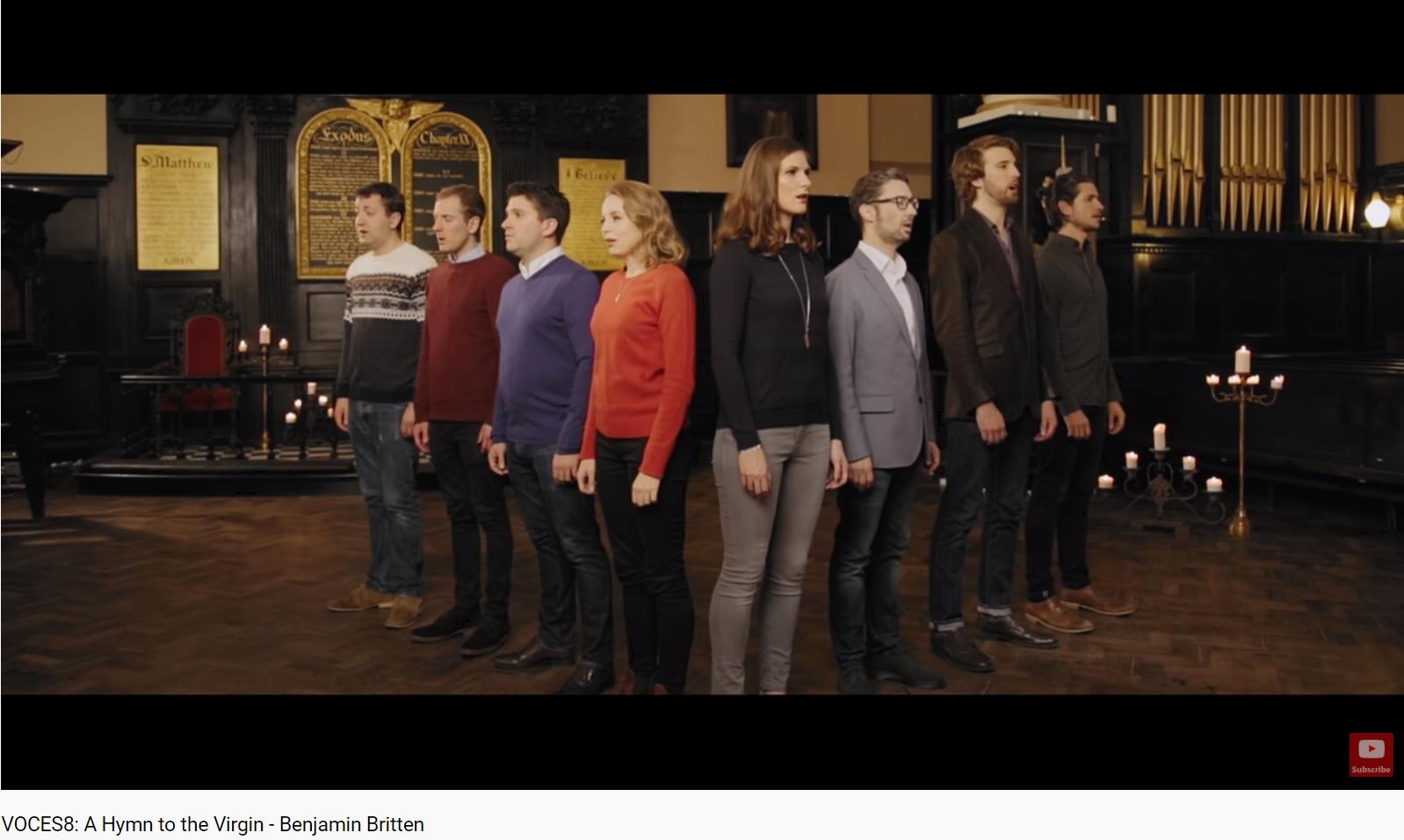 Britten A Hymn to the Virgin