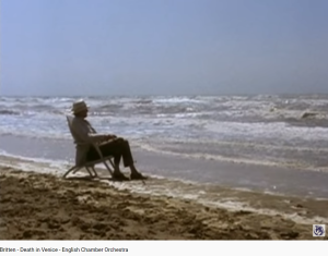 Britten The death in Venice la plage