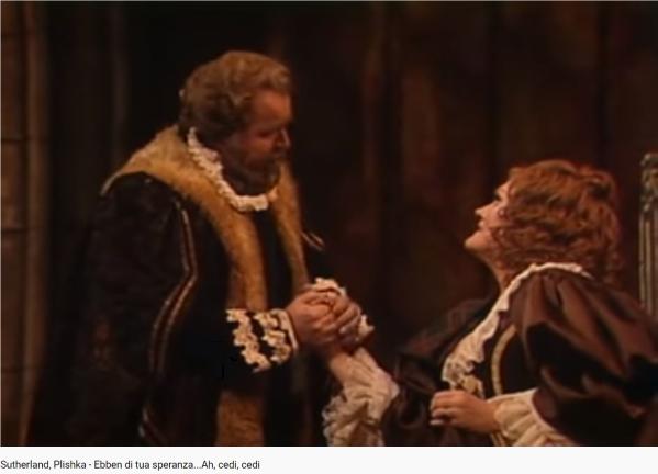 Donizetti Lucia di Lammermoor Ebben di tua speranza