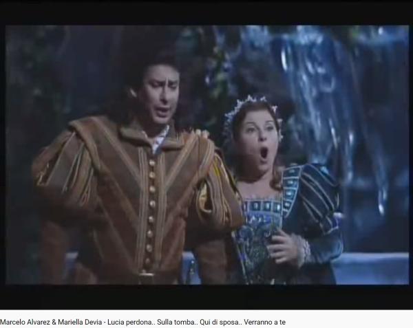Donizetti Lucia di Lammermoor Lucia perdona... Sulla tomba...