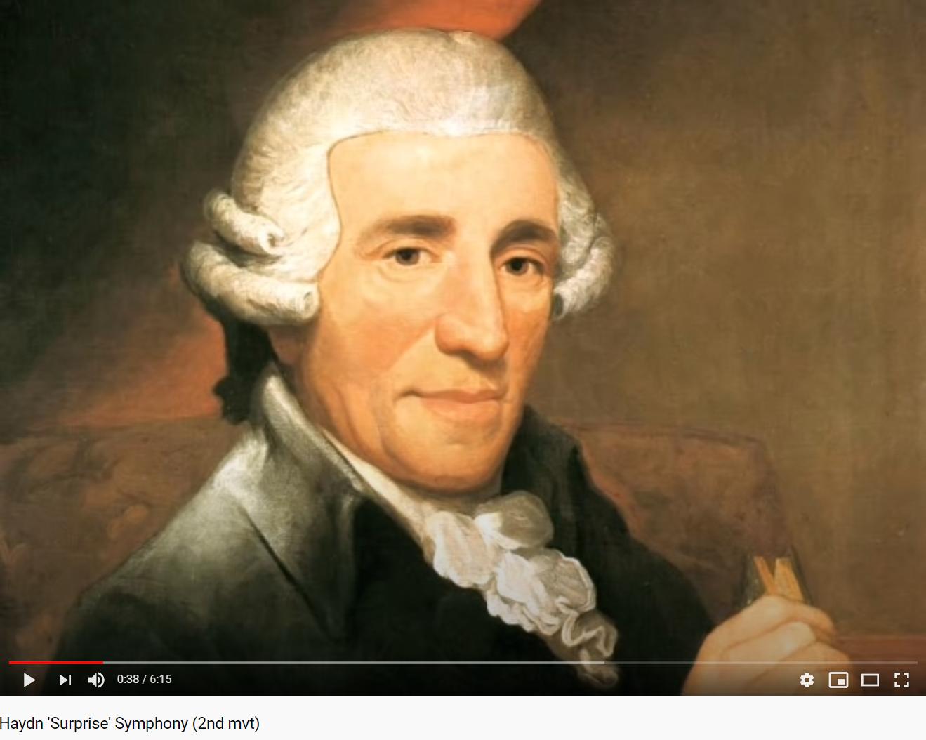 Haydn la Surprise (par Hoffnung)