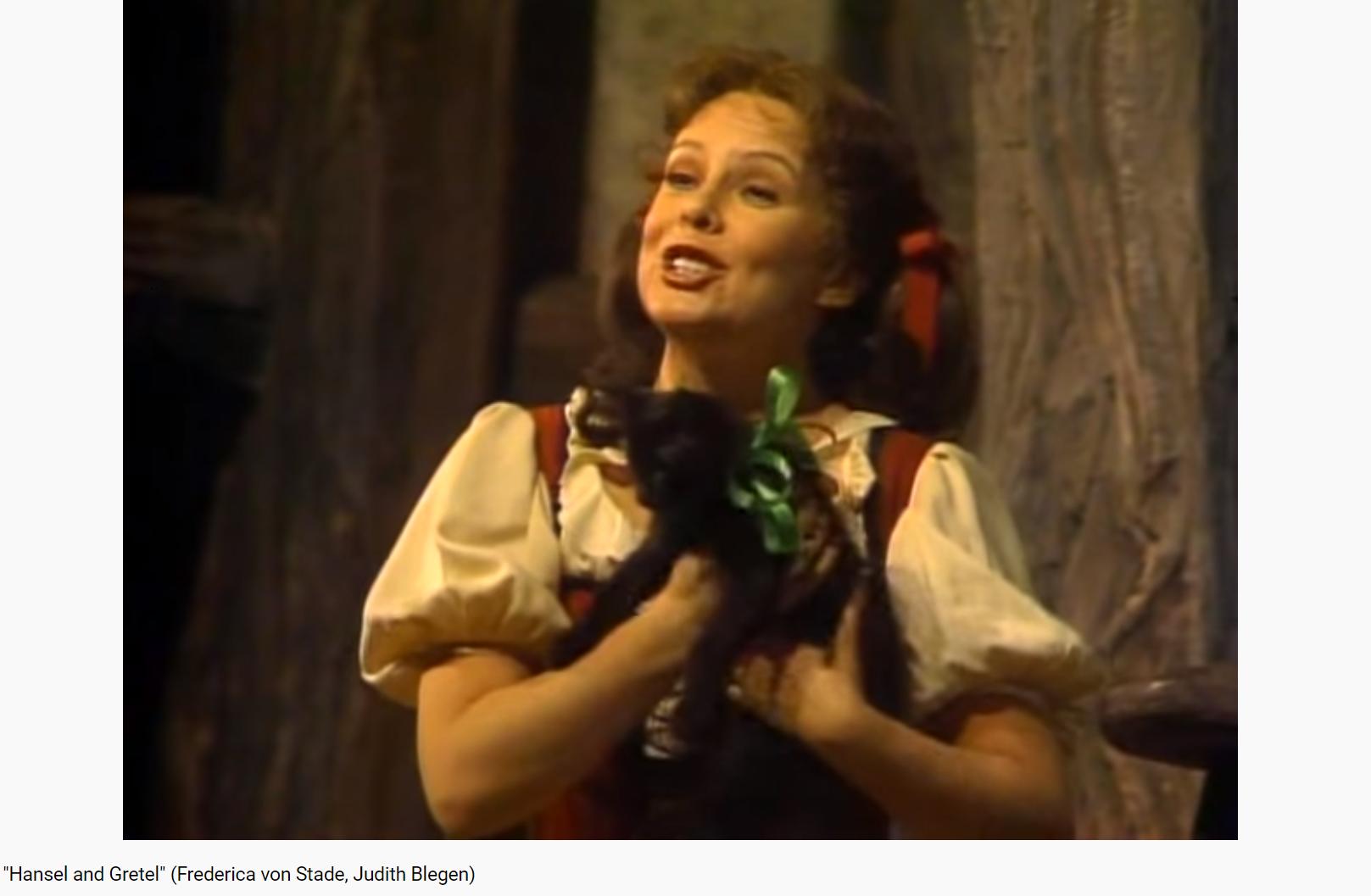 Humperdinck Hansel und Gretel (MET 1982)