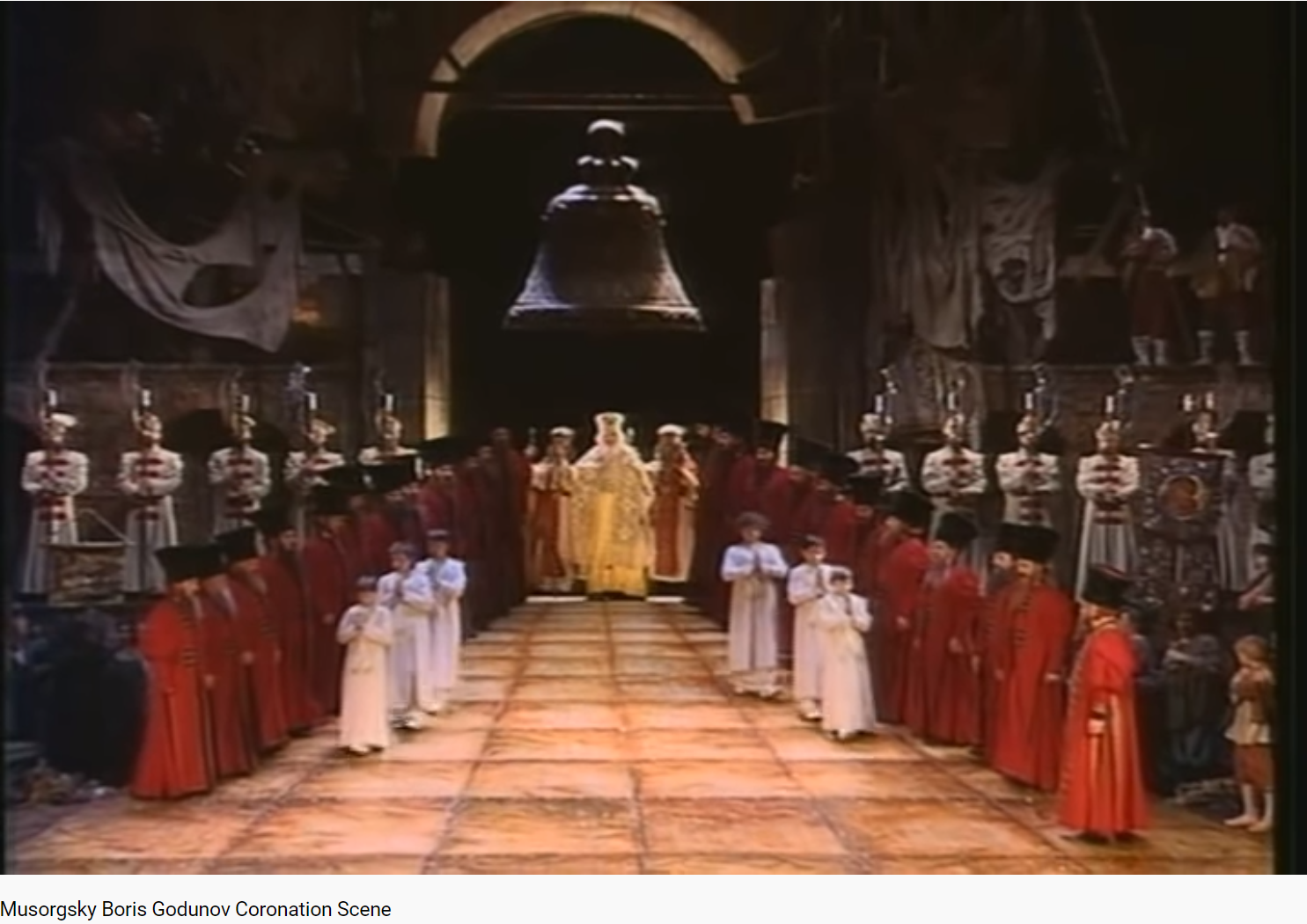 Moussorgski Boris Godounov Scène du couronnement