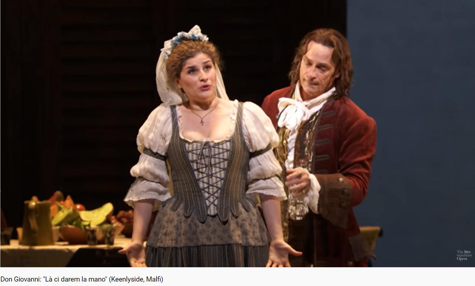 Mozart Don Giovanni la ci darem la mano (MET 2016)