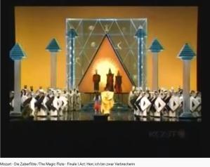 Mozart la Flûte enchantée final acte I (MET 2006)
