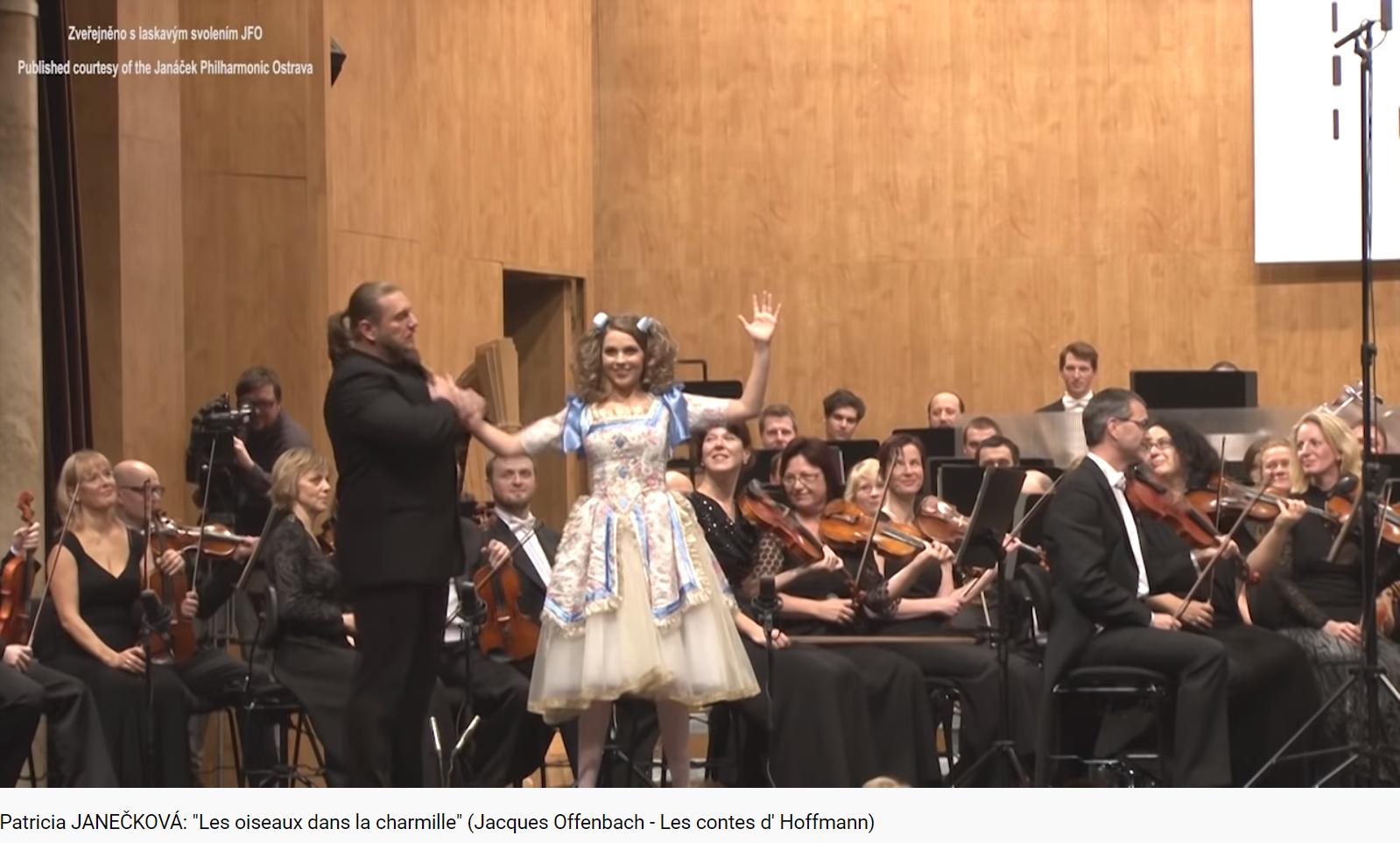 Offenbach Les Contes d'Hoffmann les zoziaux dans la charmille