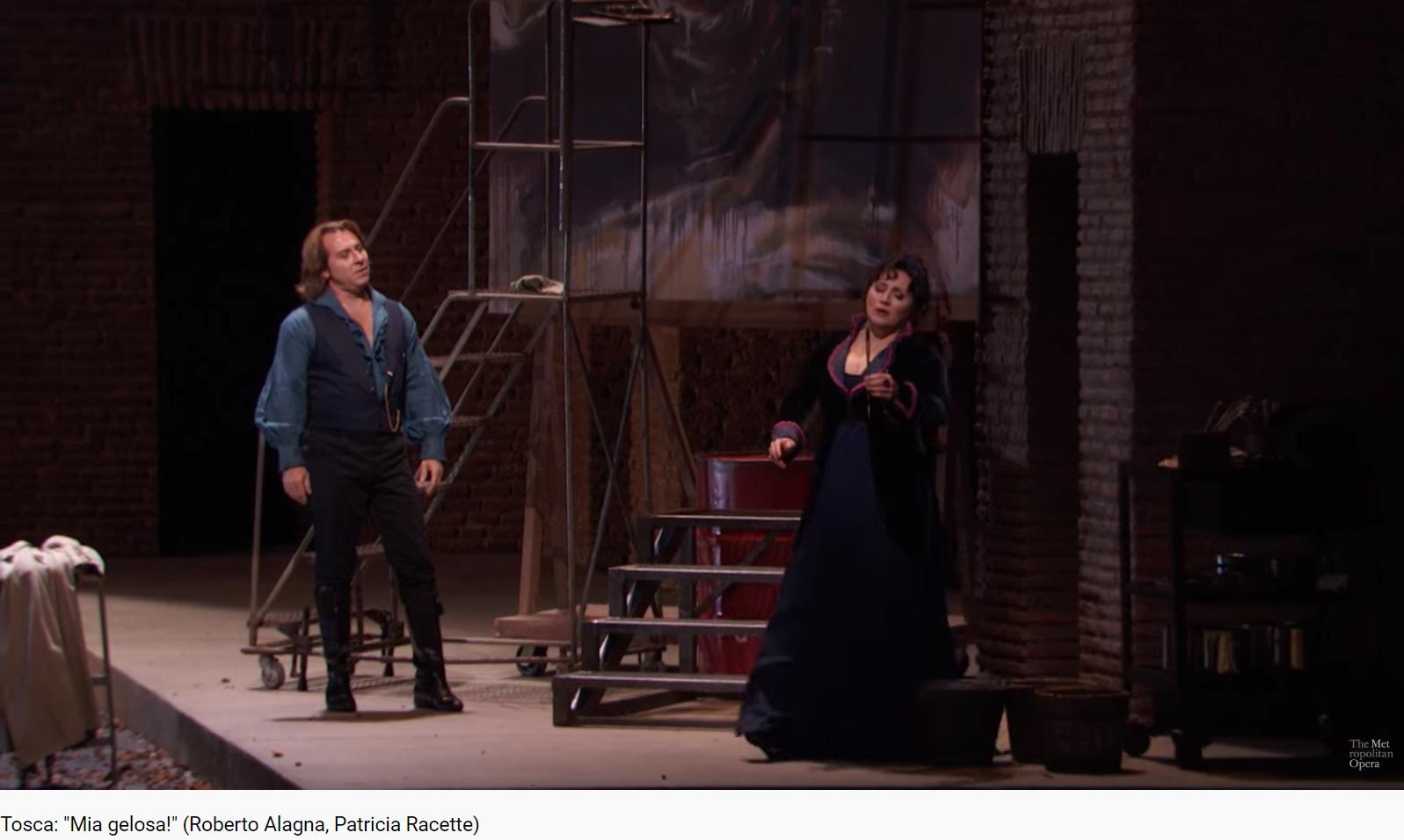 Puccini Tosca mia gelosa (MET 2013)