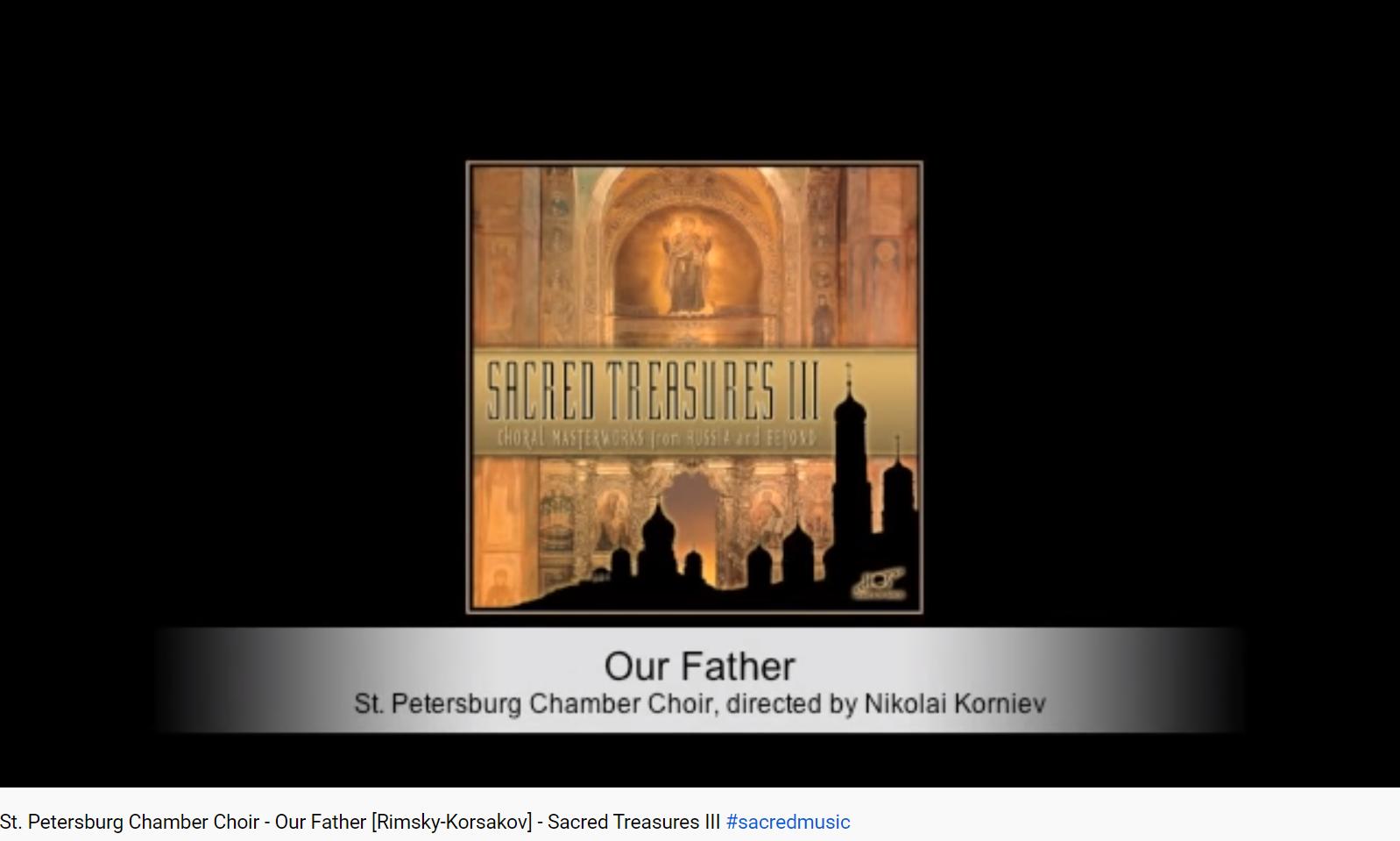 Rimski-Korsakov Notre père