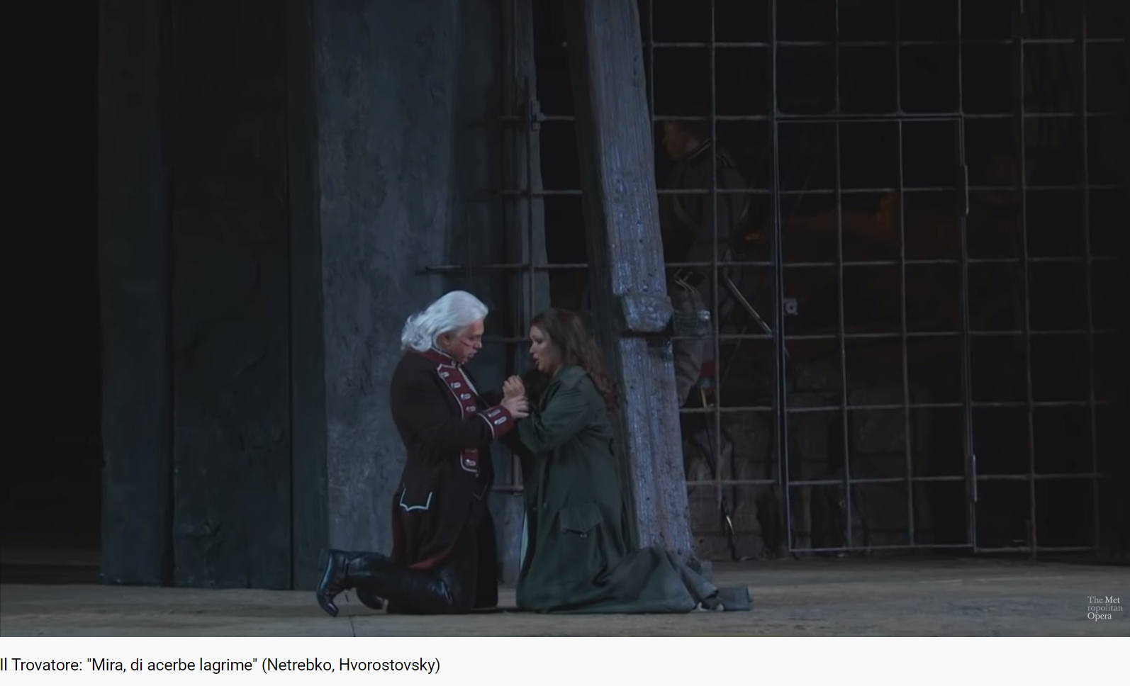 Verdi Il Trovatore Mira, di acerbe lagrime (Met 2015)