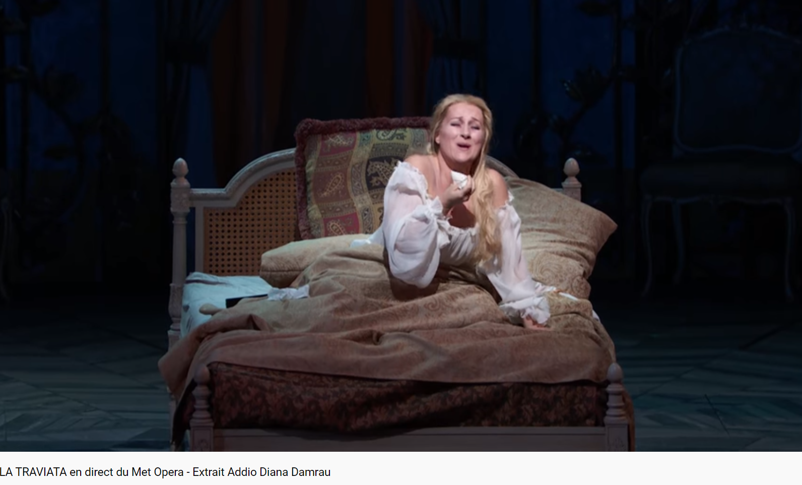 Verdi La Traviata Damrau (MET 2018)
