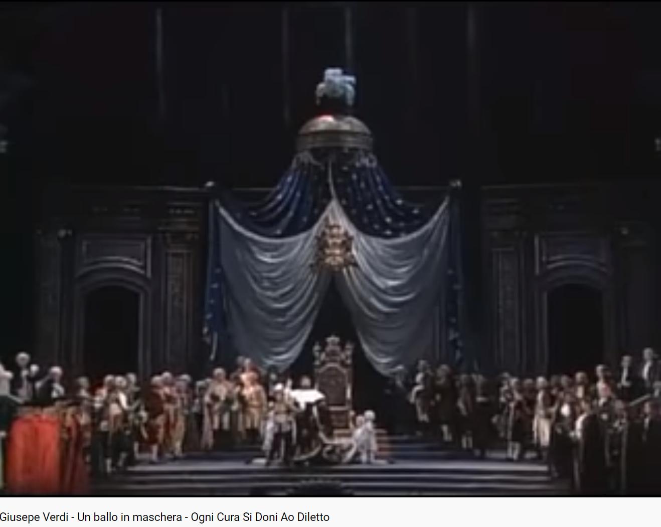 Verdi Un ballo in maschera (MET 1991)