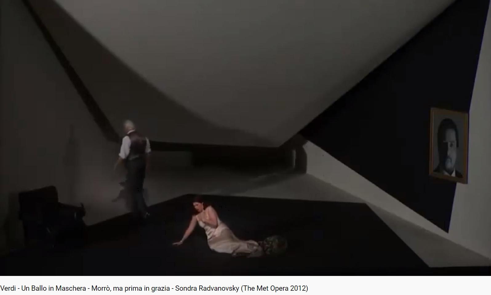 Verdi un ballo in maschera Morro ma prima in grazia (MET 2012)