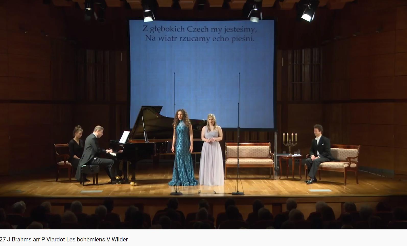 Brahms les Bohémiennes (Viardot)