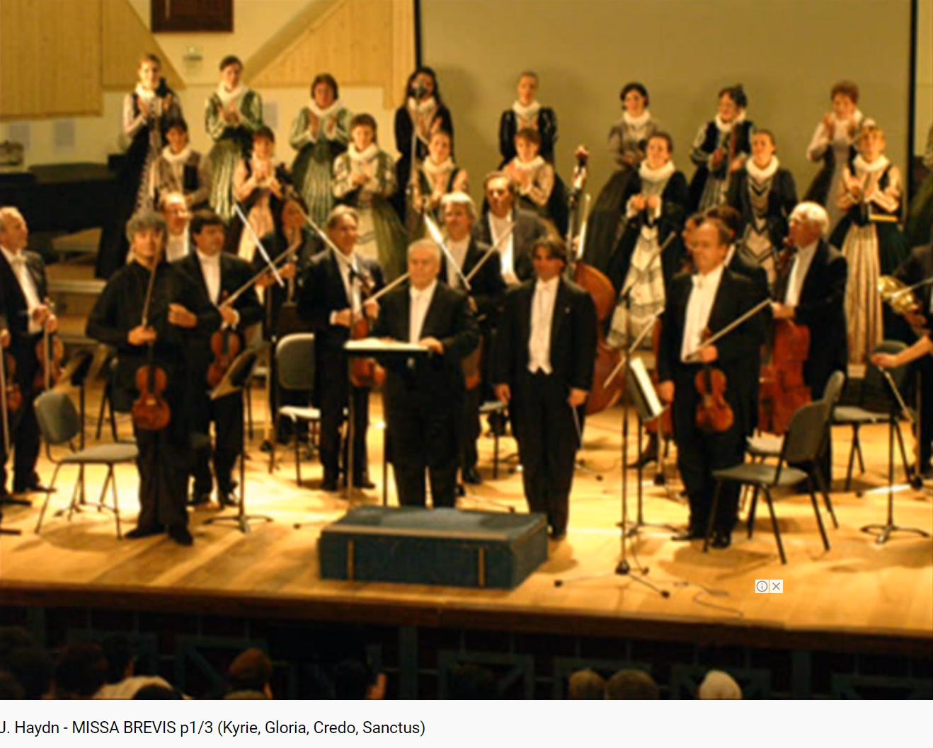 Haydn Missa Brevis