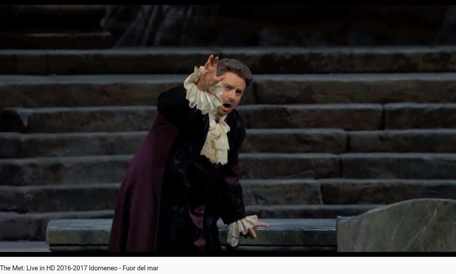 Mozart Idoménée Fuor del mar (Met 2107)