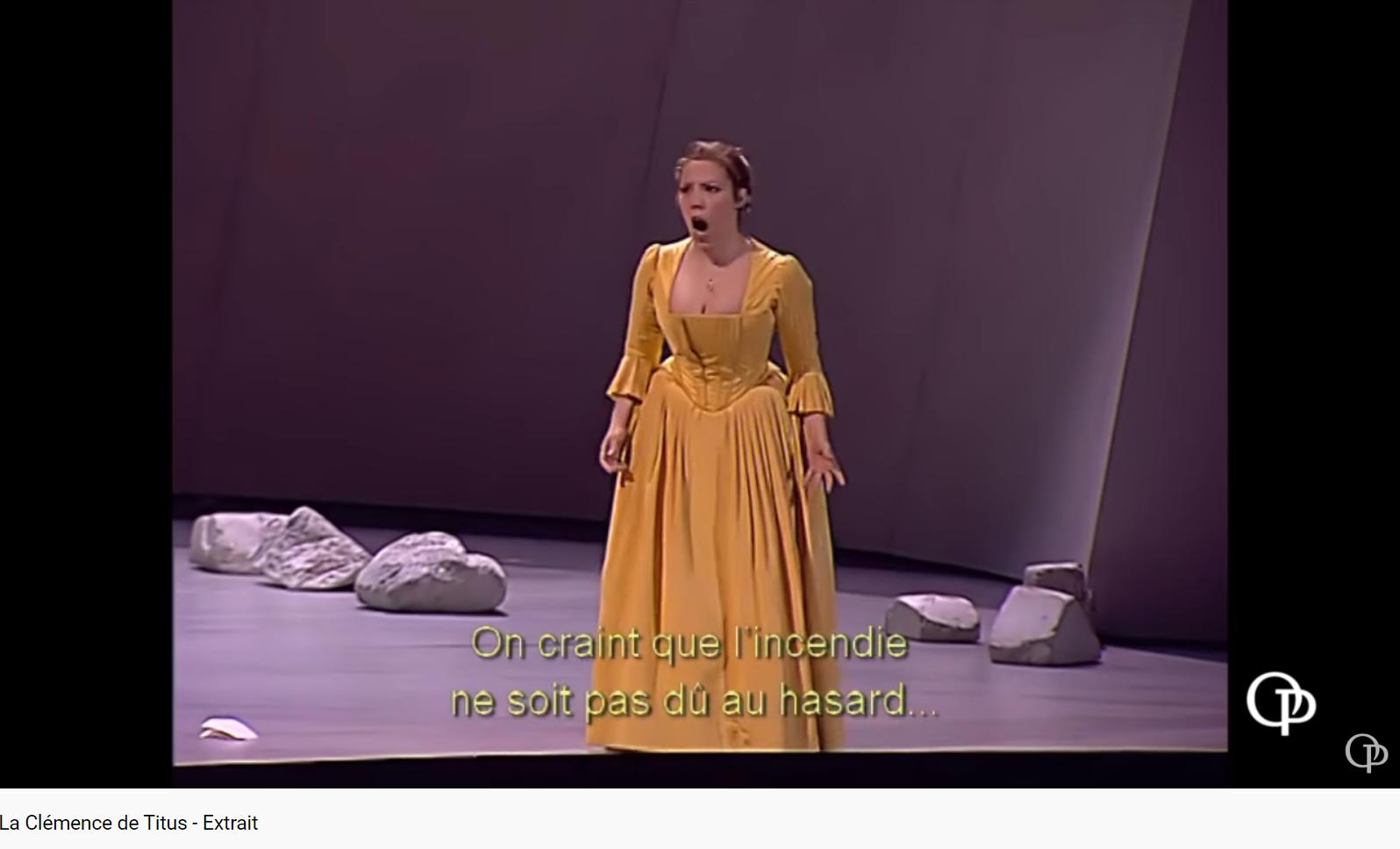 Mozart La Clemenza di Tito Parto, final