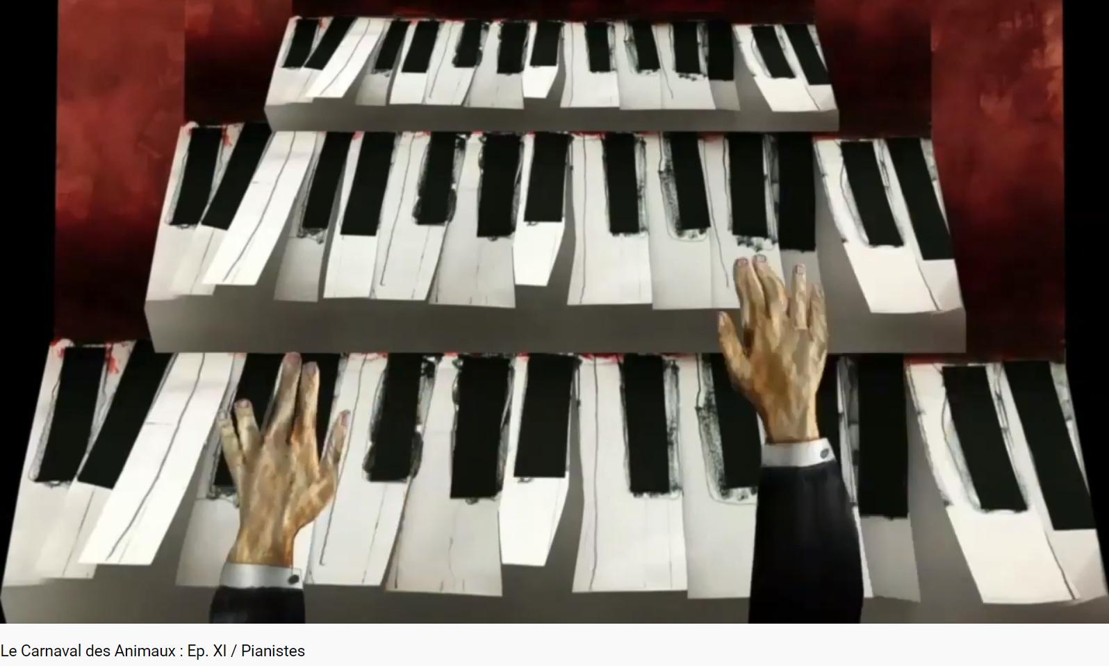 Saint-Saëns Carnaval des animaux pianistes
