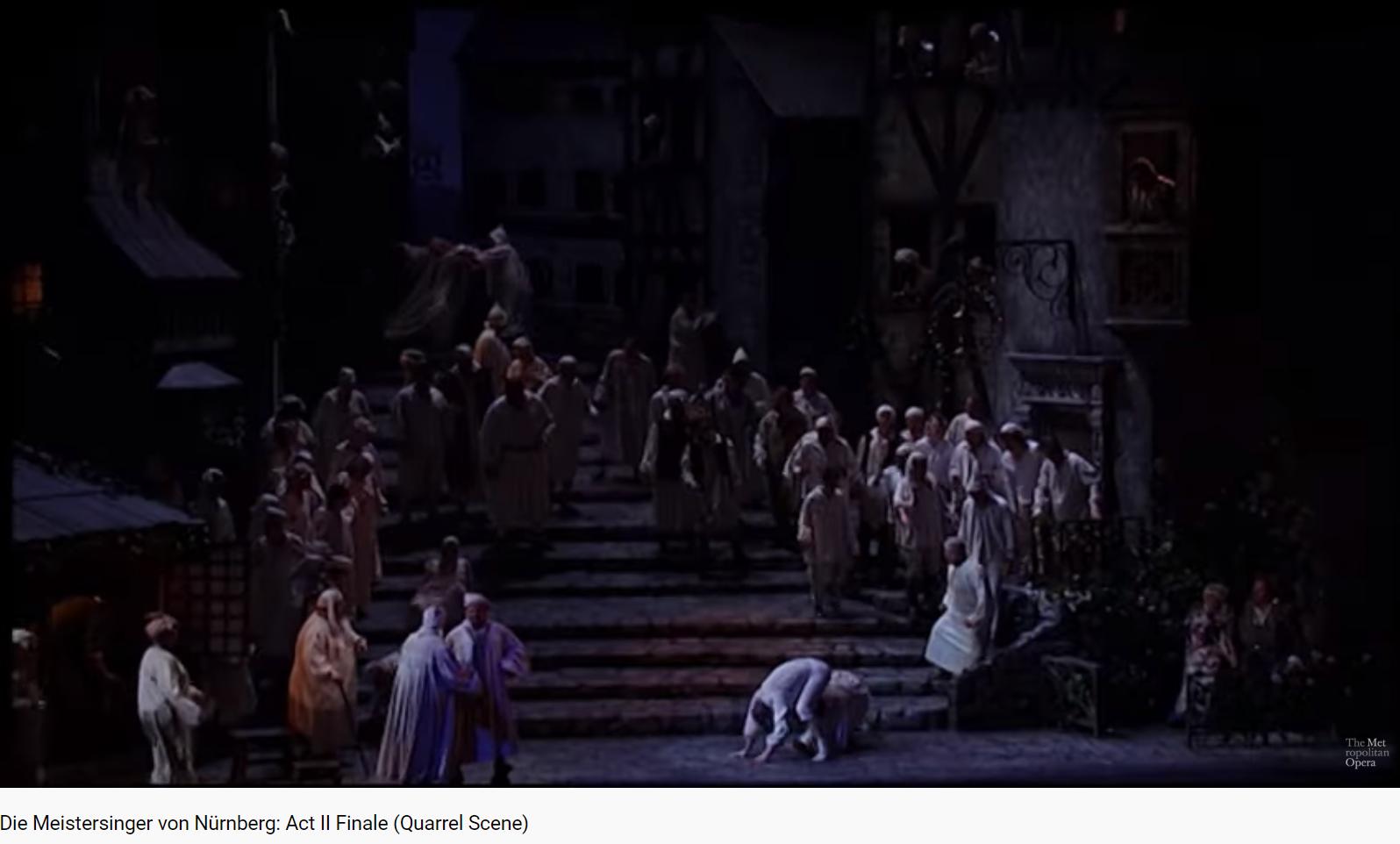 Wagner les Maîtres Chanteurs final acte II