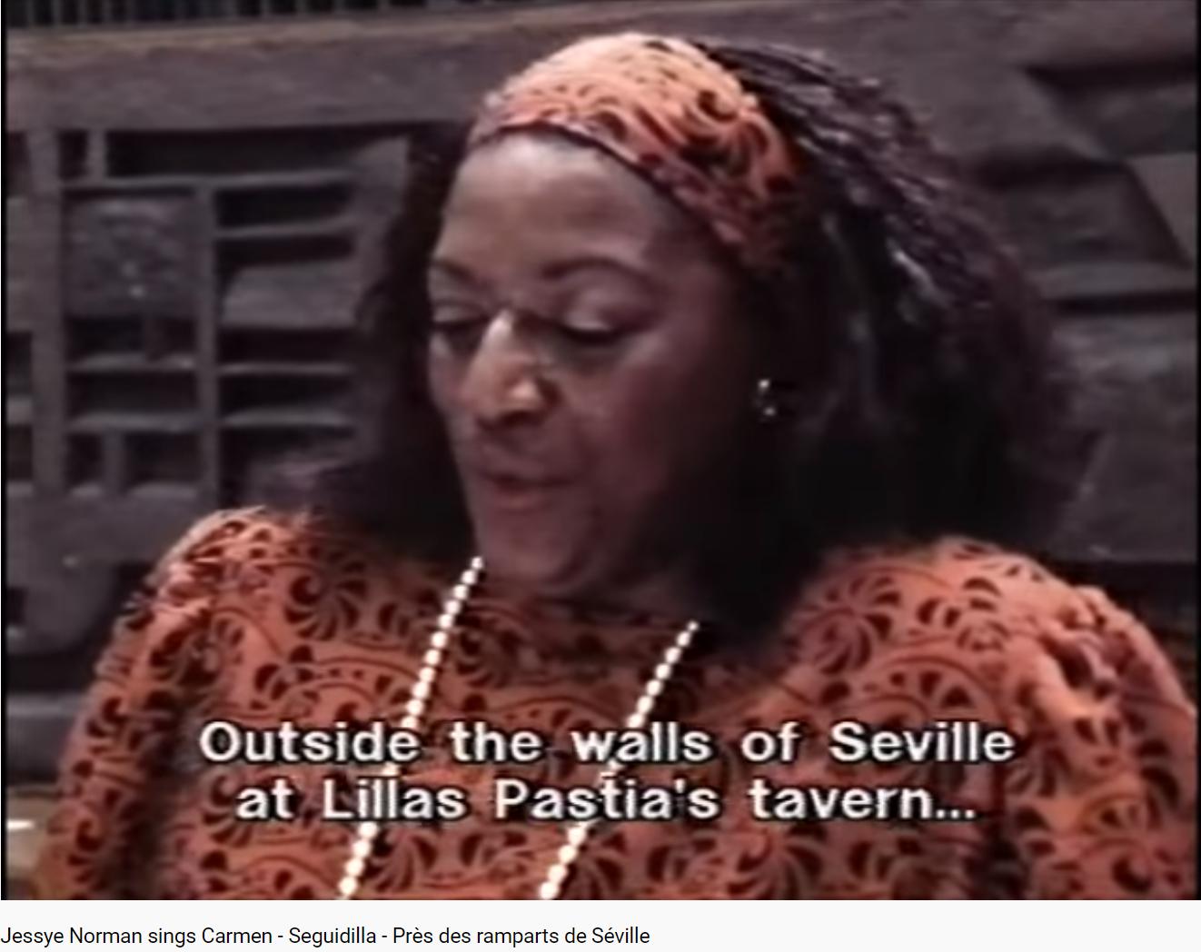 Bizet Carmen Séguedille
