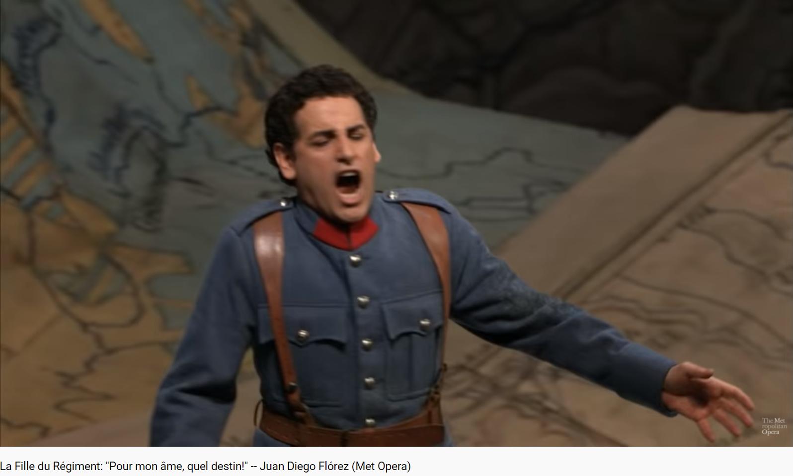 Donizetti La Fille du régiment pour mon âme quel destin