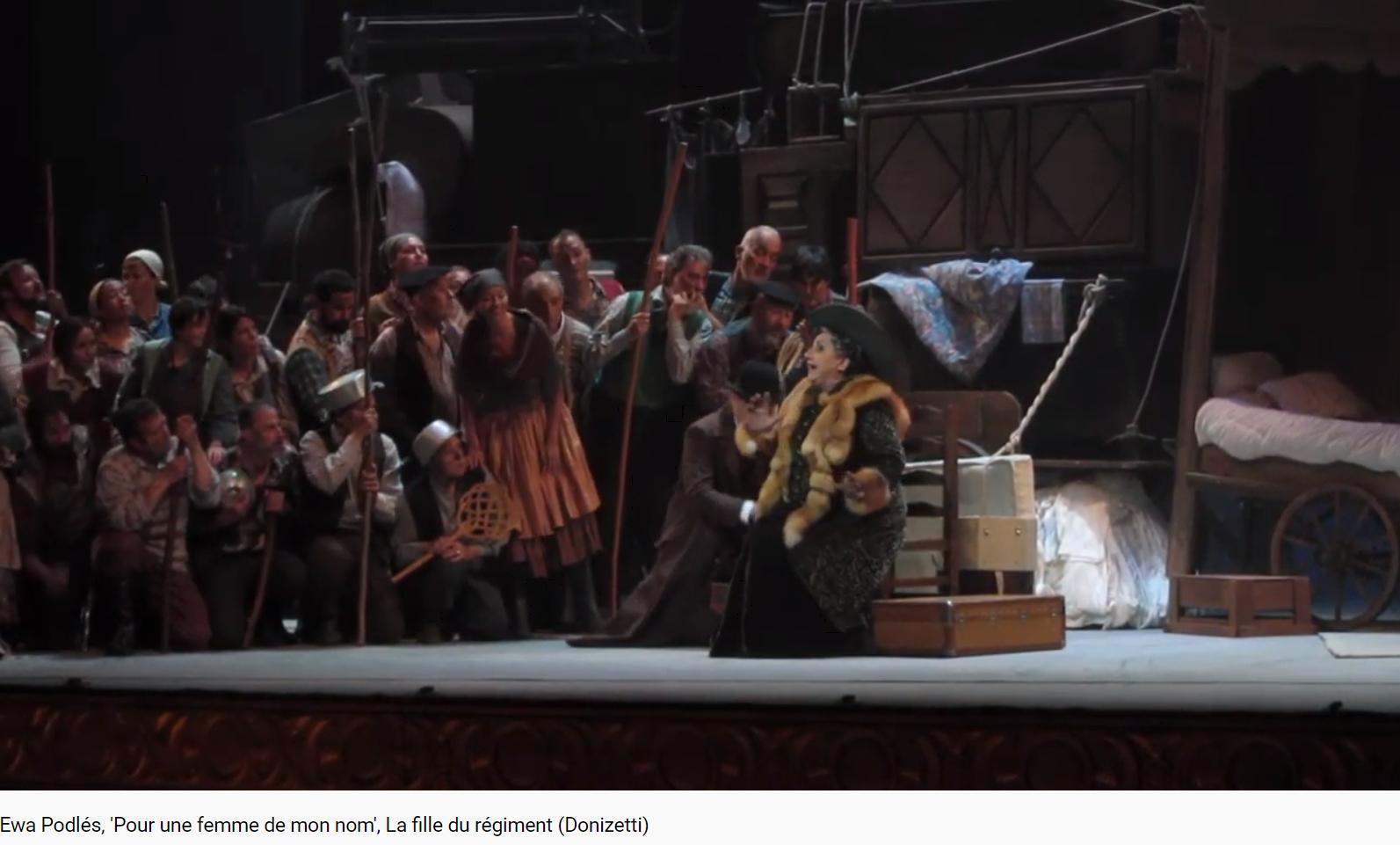 Donizetti La Fille du régiment pour une femme de mon nom