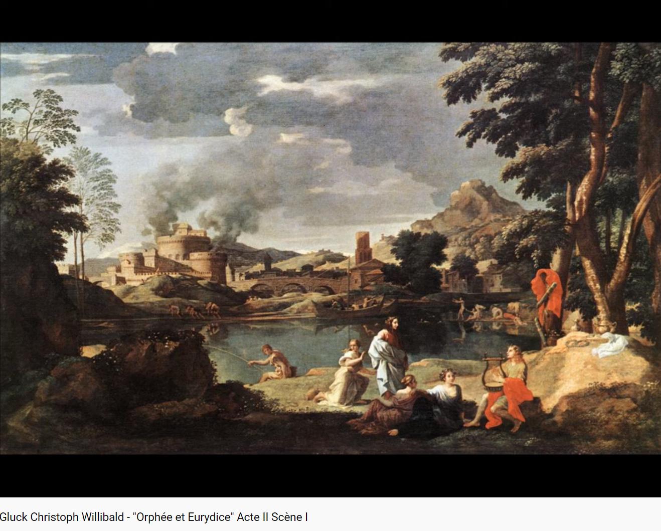 Gluck Orphée et Eurydice début acte II