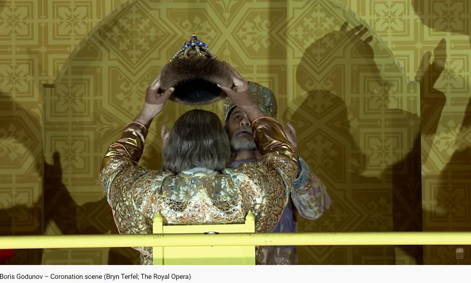 Moussorgski Boris Godounov couronnement (Bryn Terfel)
