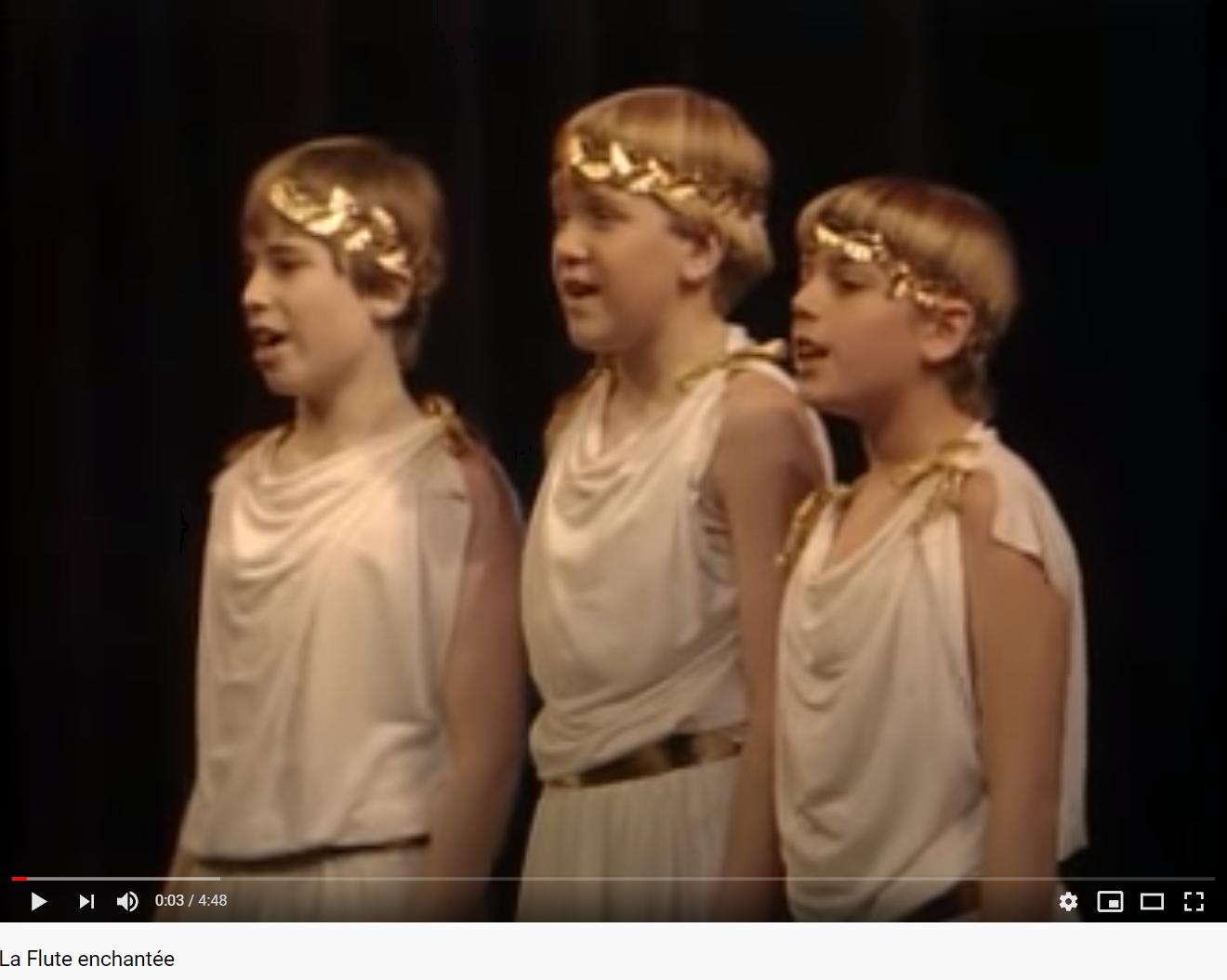 Mozart la Flûte enchantée les enfants