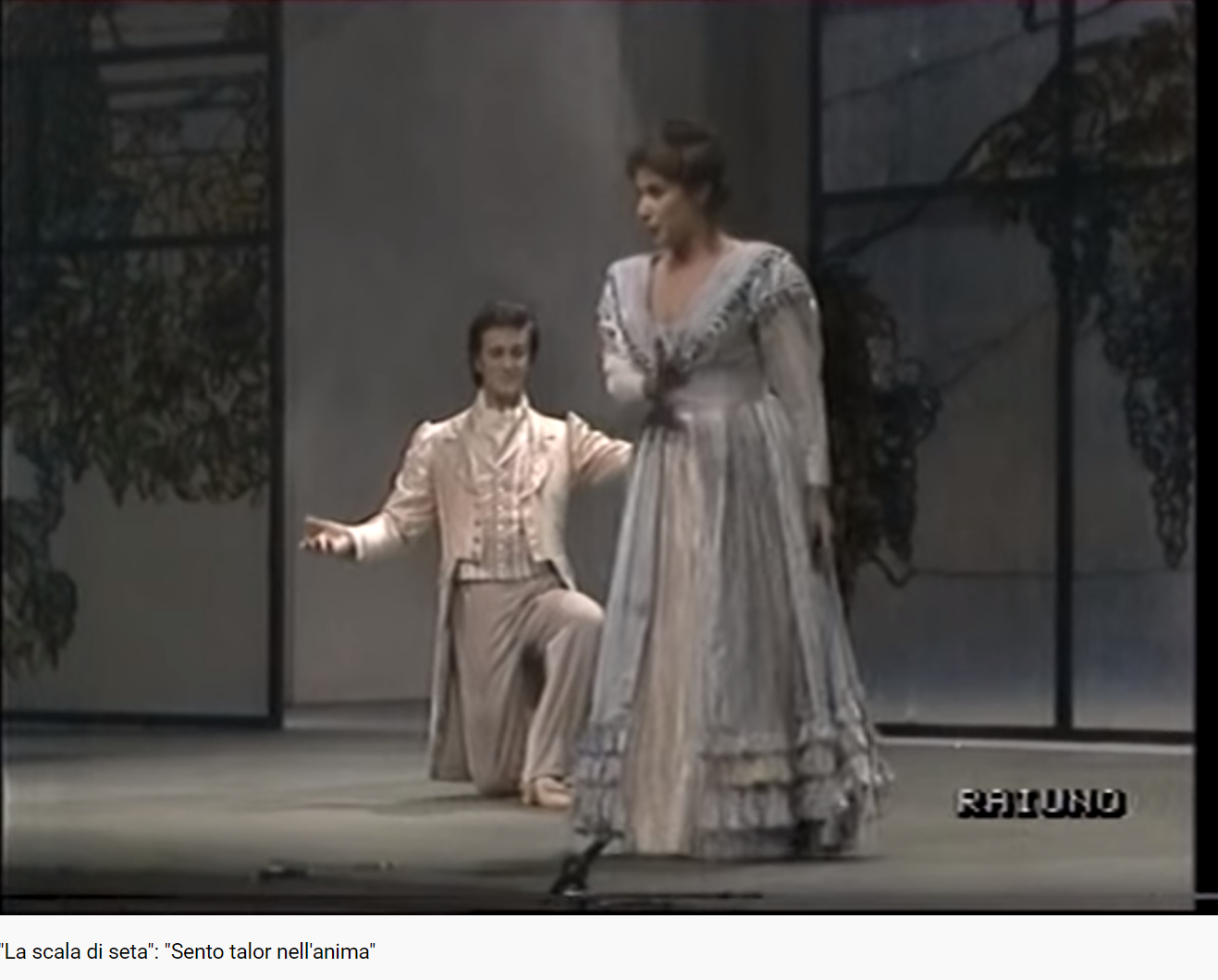 Rossini l'échelle de soie