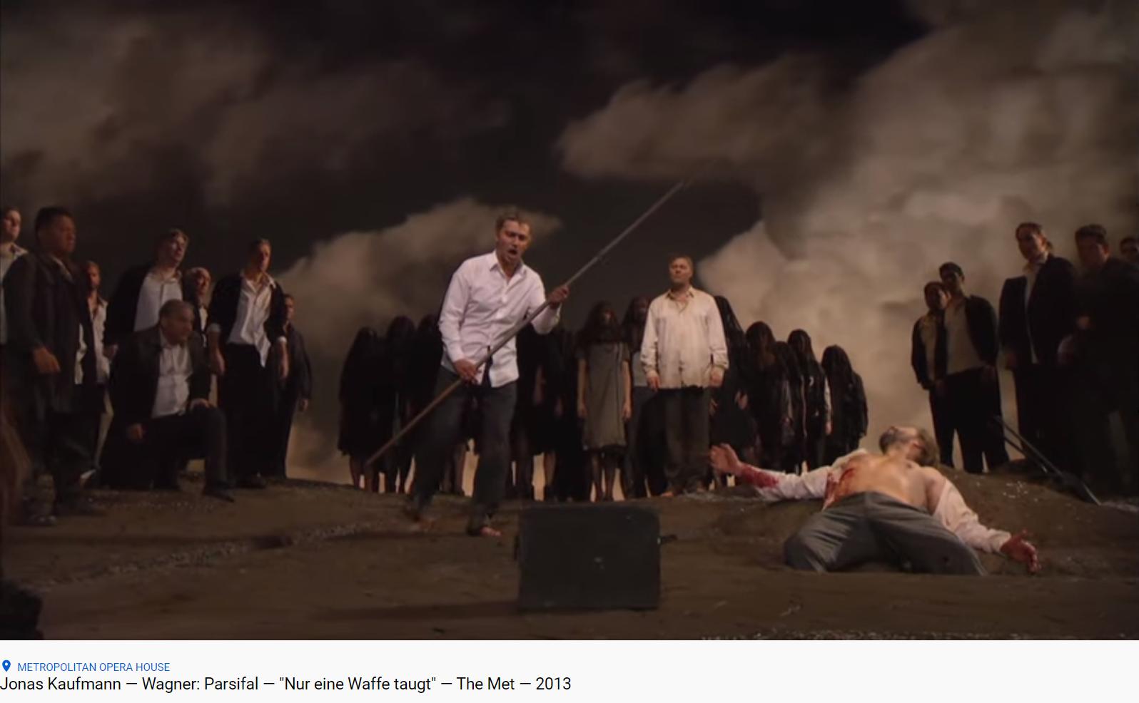 Wagner Parsifal Nur eine Waffe taugt (MET 2013)