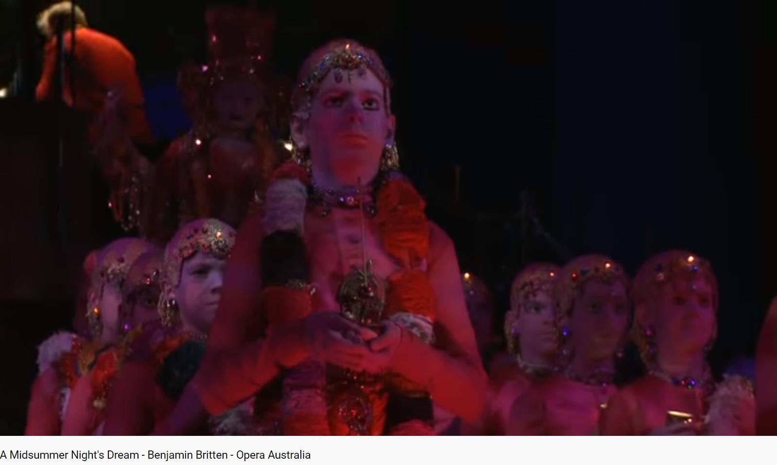 Britten a midsummer night's dream final (chœur des fées)