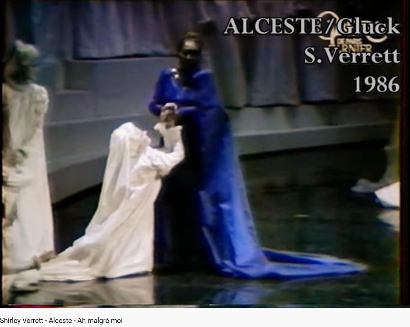 Gluck Alceste Ah malgré moi