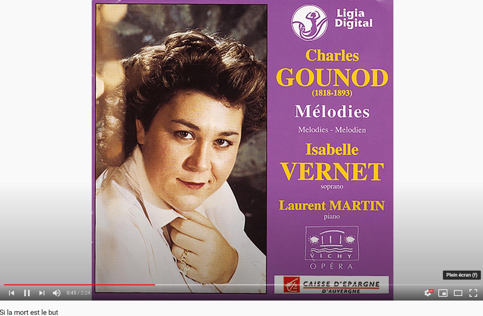 Gounod (Bertin) Si la mort est le but
