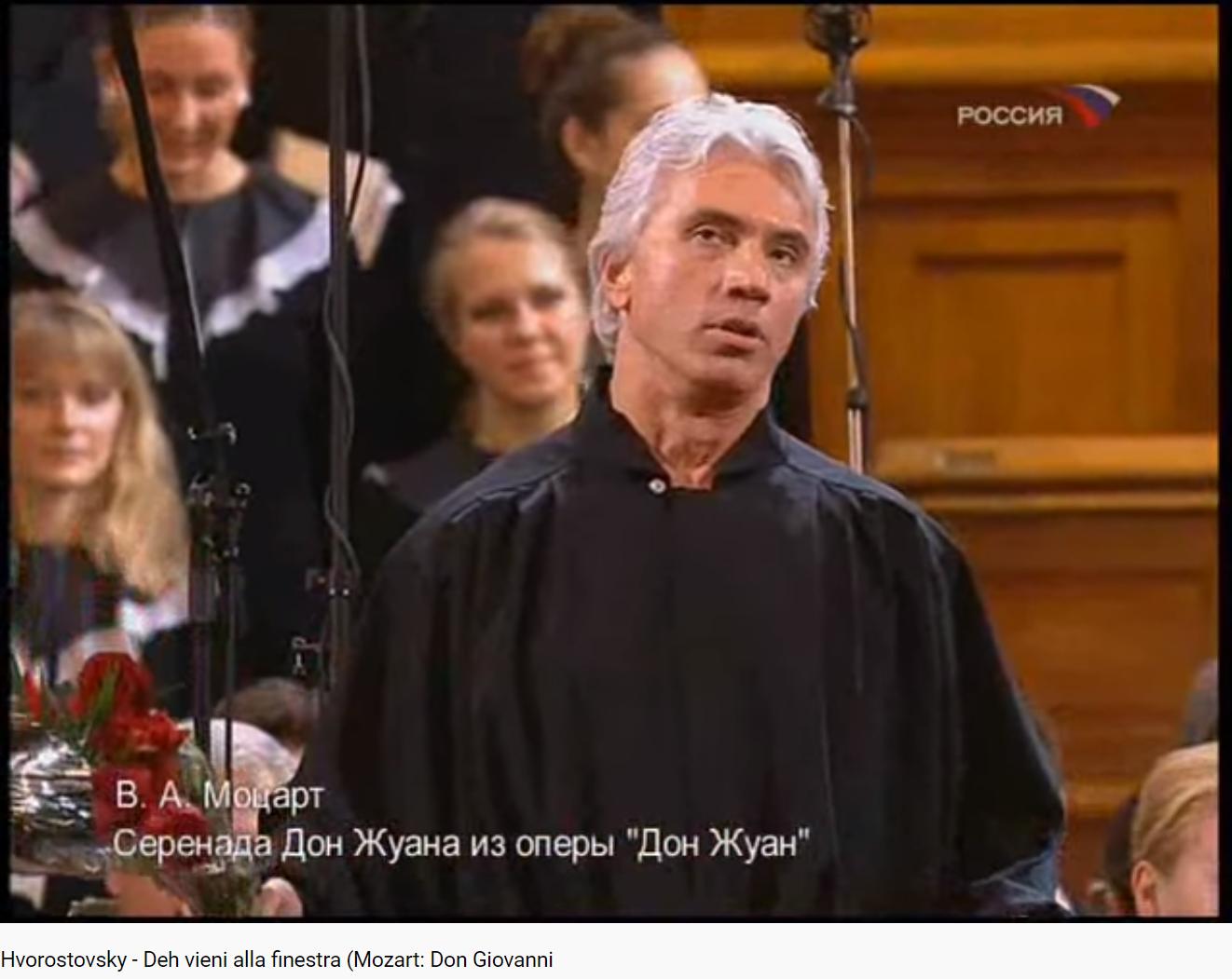 Mozart Don Giovanni deh vieni alla finestra