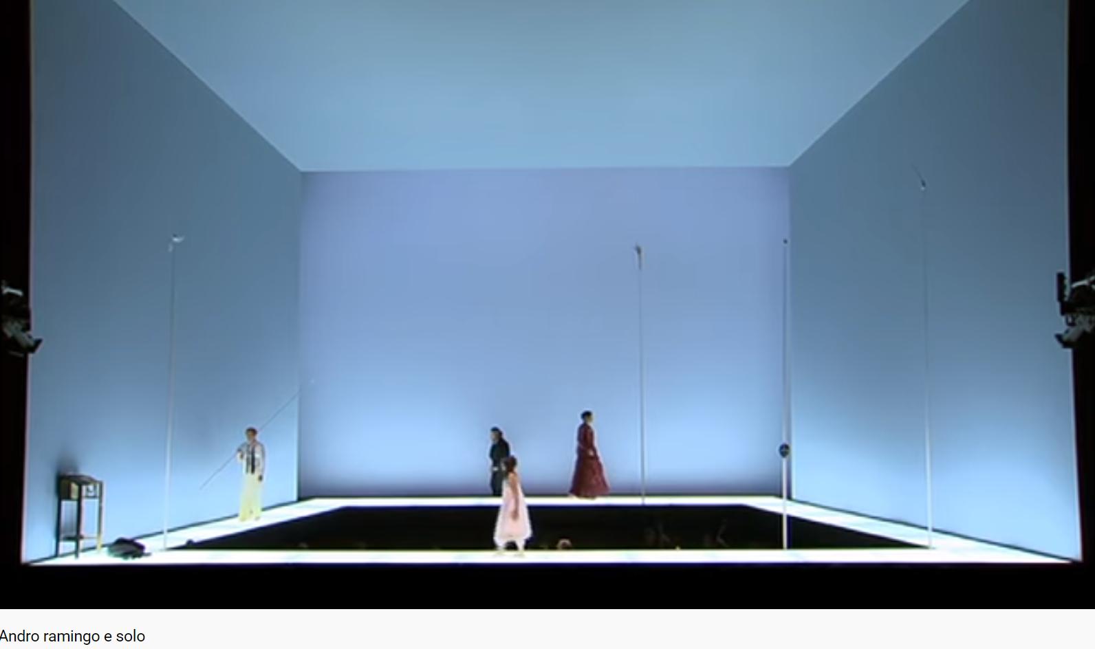 Mozart Idoménée andro ramingo e solo