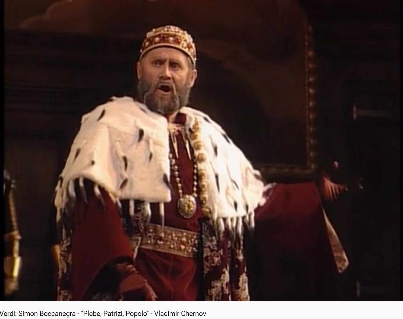 Verdi Simon Boccanegra Plebe, Patrizi, Popolo (MET 1995)