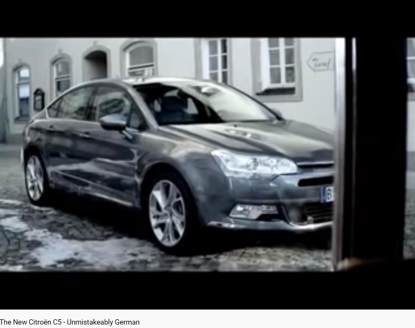 Wagner chevauchée des Walkyries pûb pour la Citroën C5