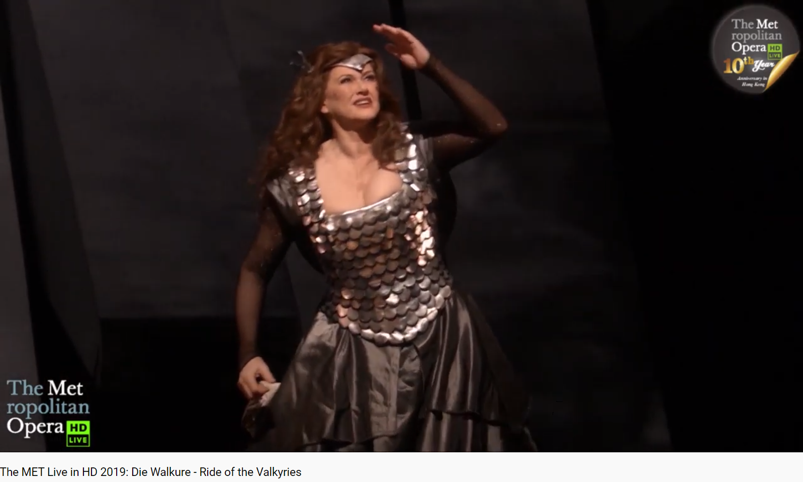 Wagner Die Walküre chevauchée (Met 2019)