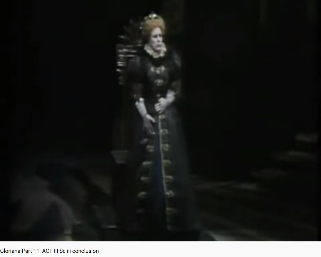 Britten Gloriana Act III scene III conclusion