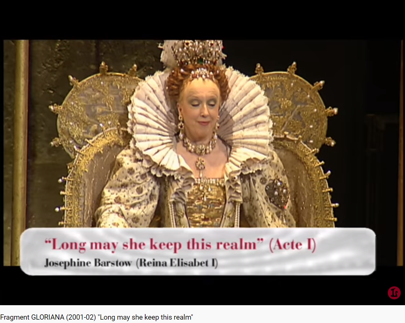 Britten Gloriana Long may she keep this realm