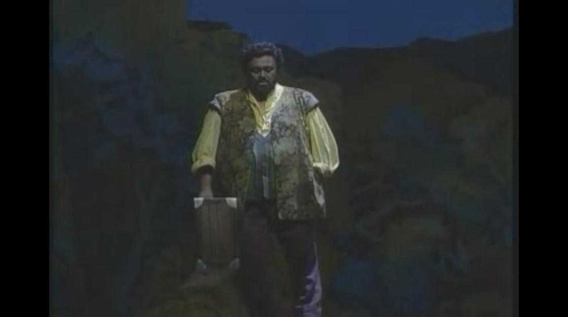 Donizetti L'Elisir d'Amore Una Furtiva lagrima (MET 1991)