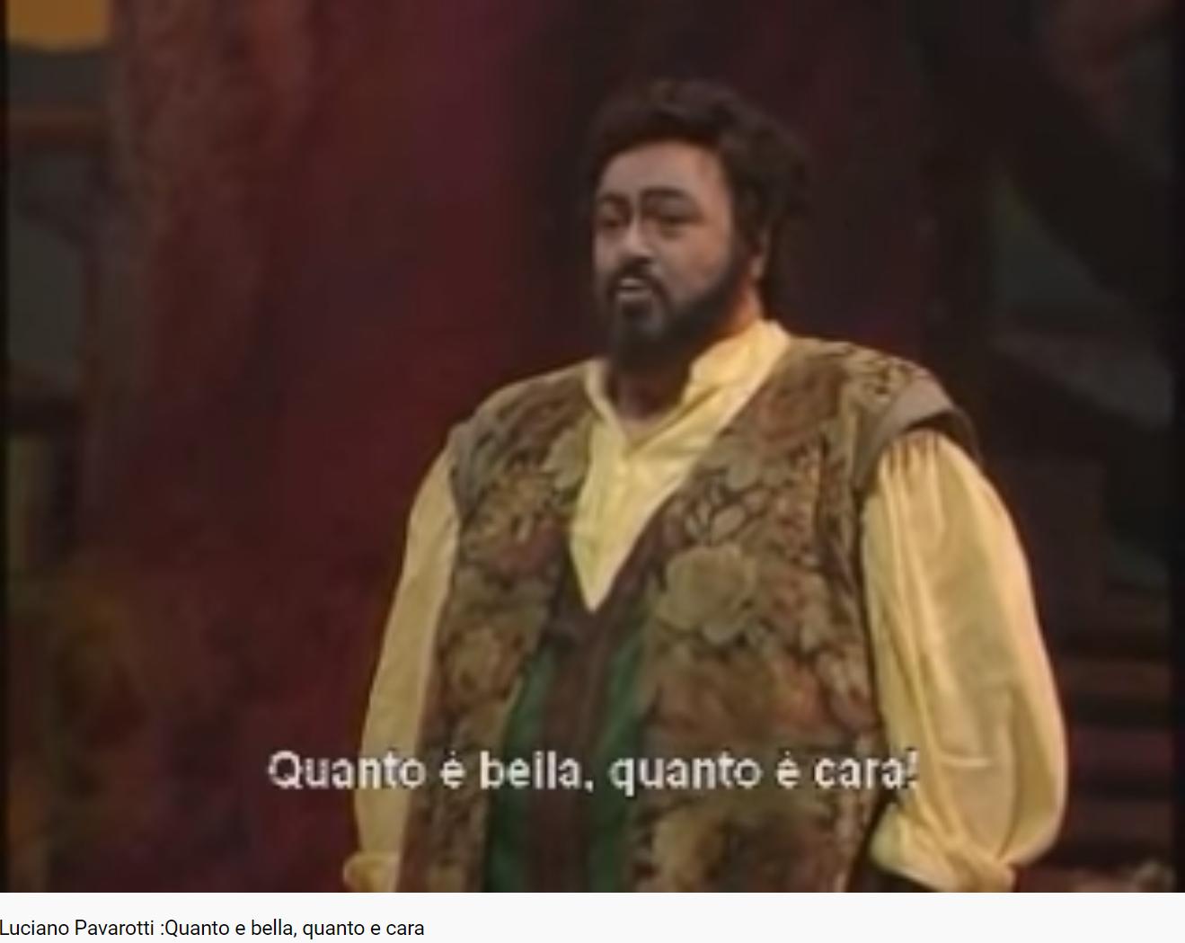 Donizetti l'Élixir d'amour quanto e bella