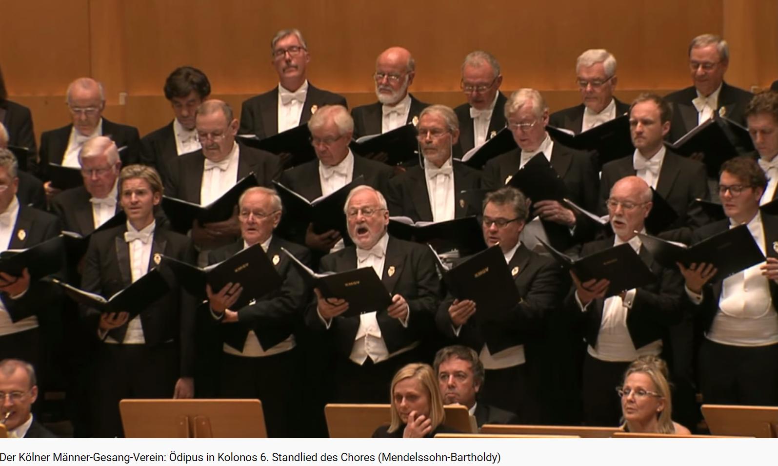 Mendelssohn Oedipus in Kolonos