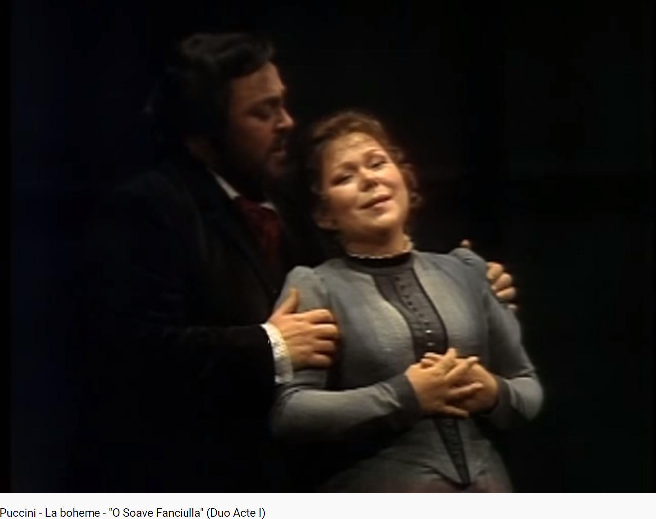 Puccini La Bohème O soave Fanciulla (Met 1977)