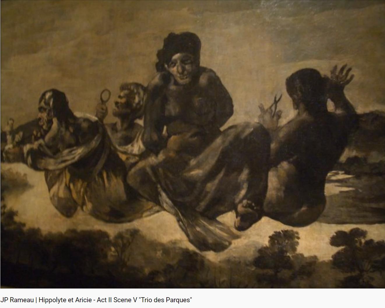 Rameau Hippolyte et Aricie Trio des Parques (Quelle soudaine horreur)